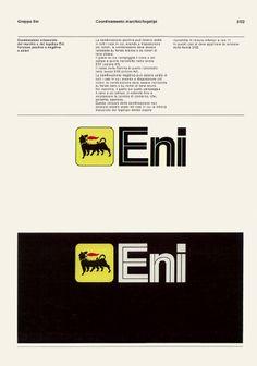 Bob Noorda, Unimark Manuale di immagine aziendale / Corporate identity manual, Agip, 1972, courtesy Eni.