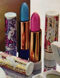 Avon A Certain Look Lipstick & Lip Beamer, 1971