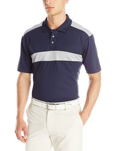 PGA TOUR Men's Performance Golf Polo Shirt -- Find out more details by clicking the image : Sports Fitness Clothing
