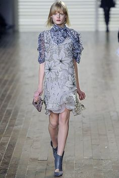 Chloé Fall 2008 Ready-to-Wear Fashion Show - Hanne Gaby Odiele (IMG)