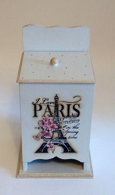 Porta absorvente - Paris | Atelier Marcia Campos | Elo7