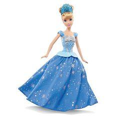 Boneca Princesas Disney - Cinderela Baile Encantado - Mattel #boneca