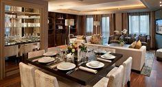 Hamilton Terrace, dining room