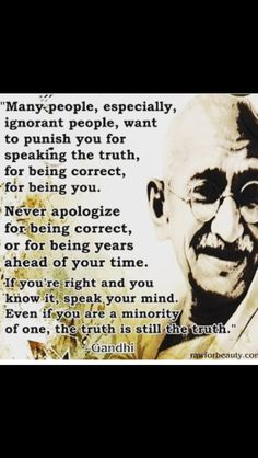 """Problem with the TRUTH is that """"most"""" people can't handle it ✌️"""
