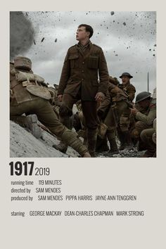 Alternative Minimalist Movie/Show Polaroid Poster 1917 Iconic Movie Posters, Minimal Movie Posters, Minimal Poster, Movie Poster Art, Iconic Movies, Poster Wall, Film Polaroid, Polaroids, Tableau Pop Art