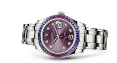Rolex Pearlmaster 39 Watch: 18 ct white gold - 86349SAFUBL