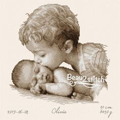 Original cross-stitch pdf-patterns from Jackie Beau por Easy Cross Stitch Patterns, Cross Stitch Fabric, Simple Cross Stitch, Cross Stitch Baby, Cross Stitch Designs, Cross Stitching, Design Girl, Hand Embroidery Stitches, Baby Art