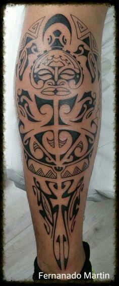 Tattoo maori. Mas Que Arte Valladolid. Fernando Martin