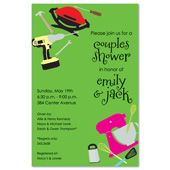 Couples Shower Invitations, Gift Corners, 19754