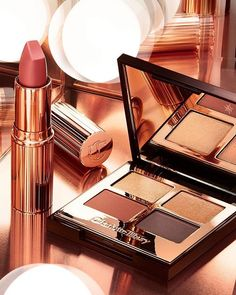 In celebration of being Brand of the Month on they have released two exclusive items . Charlotte Tillbury, Beauty News, Bright Eyes, Eye Palette, Blush, Lipstick, Skin Care, Celebrities, Makeup