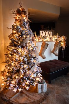 a rustic chic christmas 2017 for my niece kelcyher husband loves