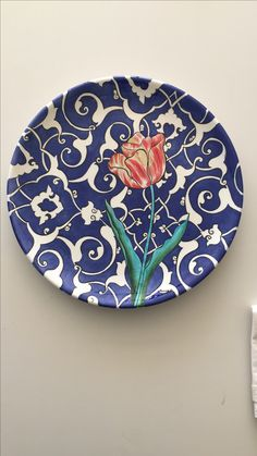 Pottery Painting Designs, Paint Designs, China Painting, Ceramic Painting, Glazes For Pottery, Ceramic Pottery, Ceramic Workshop, Turkish Art, Blue Pottery