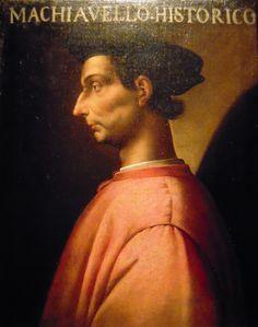 Ritratto di Machiavelli presso Galleria Uffizi Firenze
