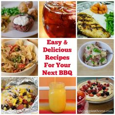 Easy and Delicious Recipes For Your Next BBQ