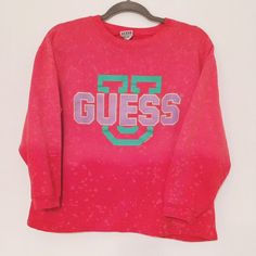 Guess Vintage 90s Sweatshirt by BlockPartyVtg on Etsy