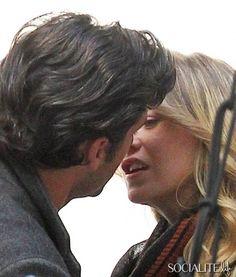 patrick dempsey kiss | Ellen Pompeo  Patrick Dempsey Caught Kissing On 'Grey's Set ...