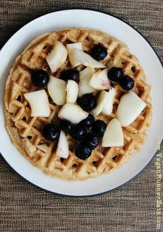 Easy-Peasy Vegan Waffles from Scratch