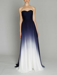 OMG going away/reception dress perfection! part wedding dress, part 'something blue', all gorgeous. maybe a bit shorter for dancing tho