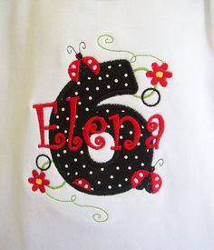 This adorable birthday shirt is perfect for her birthday. It would be precious with a pettiskirt! This item is custom made shirt and is not returnable. You can have her name on the shirt. The girls sh