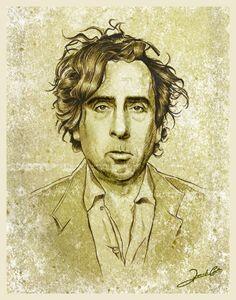 Tim Burton By Renato Cunha