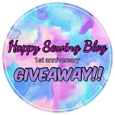 """Happy Sewing Blog is turning 1 this month!🎉🎉 To celebrate my first blog anniversary, I'm having my first giveaway!🎉🎉 I'm giving away one copy of """"The Curated Closet"""" book by Annuska Rees and 2 pdf patterns of your choice! Learn how to enter this giveaway and all the details, on the blog! The link is in bio!  The giveaway will run from today until 15/12/2017! It is open worldwide! Good luck everyone!! www.happysewingblog.com"""