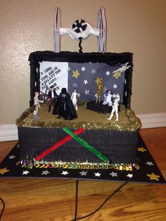 My son and I worked on this project for his School Float parade. he wanted a Star Wars theme.