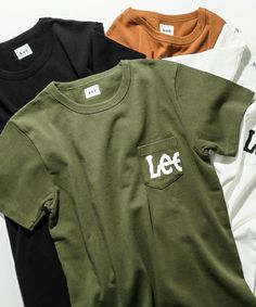 URBAN RESEARCH DOORS MENS(アーバンリサーチドアーズメンズ)の【予約】Lee×DOORS-natural- Print Pocket T-SHIRTS(Tシャツ/カットソー)|オリーブ