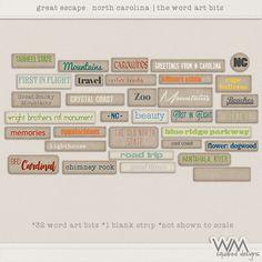 Great Escape - North Carolina - WA Bits