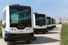 Self-Driving Buses Arriving In California In 2016