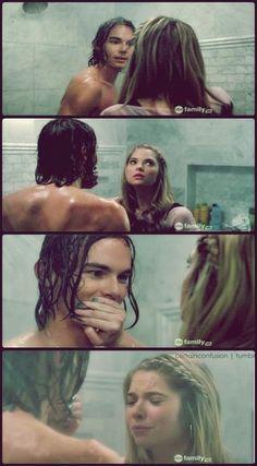 hahaha Caleb&Hanna