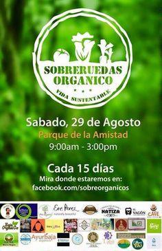 Hoy hay Sobreruedas Orgánico en el Parque de la Amistad hasta las 3 PM.