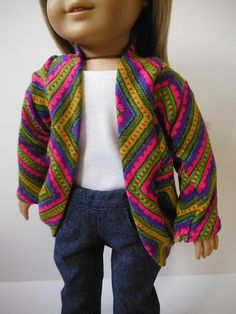 18 inch dolls fits American Girl  Slouch by HoleInMyBucket on Etsy, $10.00
