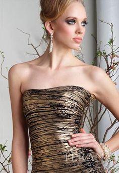 Sexy Chic Strapless Custom Made Dress C1330