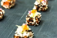 Stones Events Autumnal Canapes