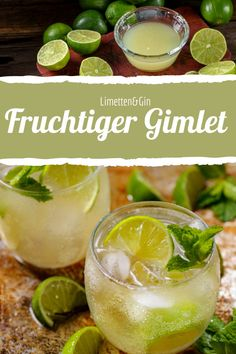 Gin Gimlet, Gimlet Cocktail, Cocktail Night, Cocktail Shaker, Tea Cocktails, Cocktail Recipes, Gin Tasting, Gin And Tonic, Perfect Food