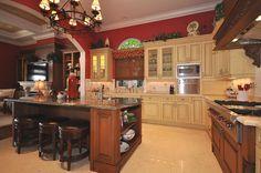 Kitchen ~ Interior design by Brenda Sands   Baer's Boca Raton