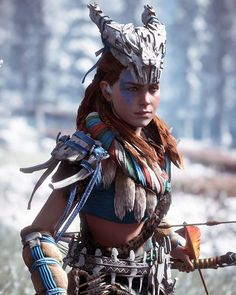 so close to the frozen wilds! ❄ _________________________________  Check out these pages for some awesome pictures! @horizon.zero.dawn  @day.dawns  @... - Horizon Zero Dawn (@i.am.the_z)