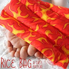 Free Rice Bag Pattern from Shiny Happy World