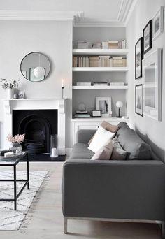 Home Renovation Design My soft, minimalist living-room makeover – the reveal House Minimalist, Minimalist Home Decor, Minimalist Interior, Minimalist Bedroom, Minimalist Kitchen, Minimalist Living Rooms, Minimalist Room Design, Living Room Grey, Living Room Modern