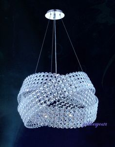Elegant Lighting 9803D28C - 16 light contemporary electron chandelier pendant