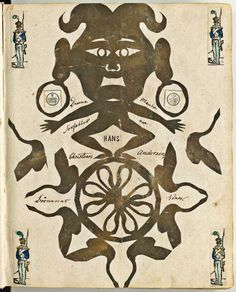 Papirklip af H.C. Andersen i Christines Billedbog