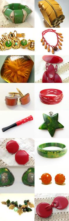 Teamlove Spotlight Shop Bakelite Dreams by Gena Lightle on Etsy--Pinned with TreasuryPin.com