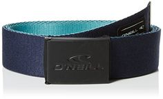 ONeill Mens Bm Classic Web Belt Blue (Navy Night), NA (Manufacturer Size:0) Features: Web belt Embossed logo, Logo patch Metal buckle Manufacturer colour: navy night Fabric: Polyester, Metal (Barcode EAN = 8718705685324). http://www.comparestoreprices.co.uk/december-2016-5/oneill-mens-bm-classic-web-belt-blue-navy-night--na-manufacturer-size0-.asp