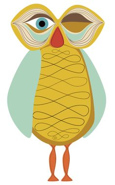Winking Retro Owl fro owladay.wordpress.com