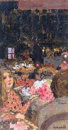 Le Moulin Rouge/ Marchande De Fleurs By Pierre Bonnard