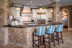 Designed by The Design Firm in Stafford, Texas  #interiors #interiordesignideas #design #interiordesign #interiordesigners #kitcheninspiration #kitchen #kitchens