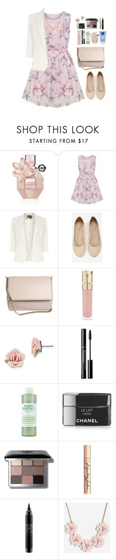 """Oh so sweet."" by krys-imvu ❤ liked on Polyvore featuring Viktor & Rolf, Jolie Moi, Express, Givenchy, Smith & Cult, 1928, Mario Badescu Skin Care, Chanel, Bobbi Brown Cosmetics and Charlotte Tilbury"
