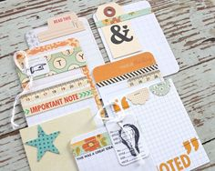 Mish Mash: Making your own Project Life Journaling Cards using October Afternoon....