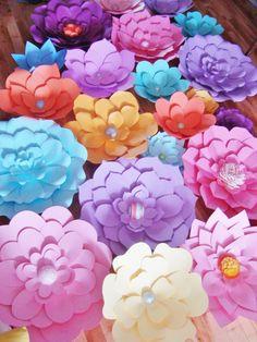 Fondo de flor de papel DIY Set de 30 por DreamEventsinPaper