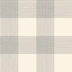 York Wallcoverings ME1523 Magnolia Home Vol. II Common Thread Cream/Black - The Savvy Decorator